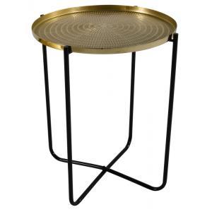 El Hierro bijzettafel goud 50 cm