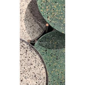 El Hierro bijzettafel terrazzo groen 35 cm