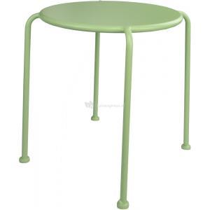 Bijzettafel Deco metaal groen 40 cm
