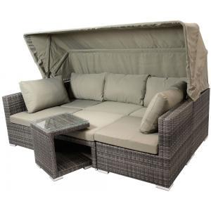 Manacor loungeset met overkapping