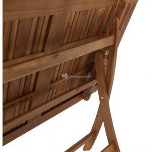 Maracana klapbare houten tuintafel 120cm