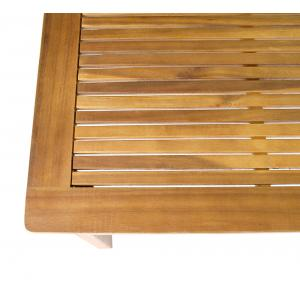 St. Vincent houten tuintafel 140 x 80 cm