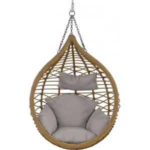 Amazona egg hangstoel naturel