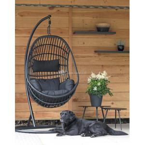 Hangstoel Sturdy Black