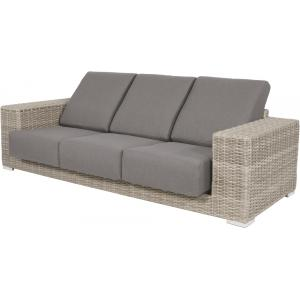 London loungeset wicker taupe