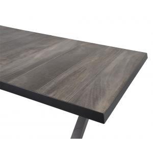 Castilla Negro tuintafel 264/204x102x78 cm uitschuifbaar