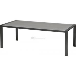 Duranite tuintafel antraciet