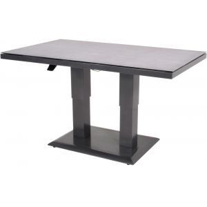 Verstelbare lounge tuintafel Mojito Negro