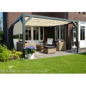 Complete Nesling pergola Wall 1 sand