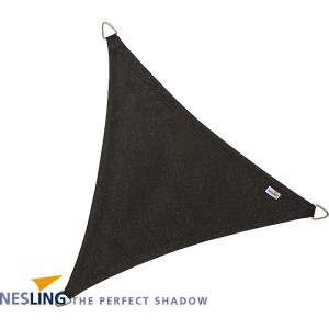 Coolfit schaduwdoek driehoek zwart