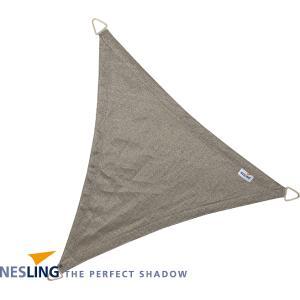 Coolfit schaduwdoek driehoek grijs