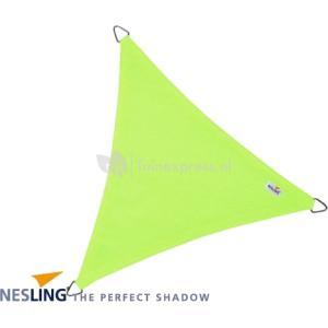Coolfit schaduwdoek driehoek lime groen