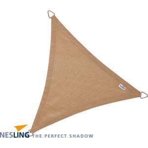 Coolfit schaduwdoek driehoek zand