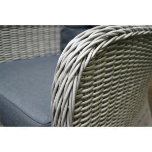 Loungestoel Queenland grijs