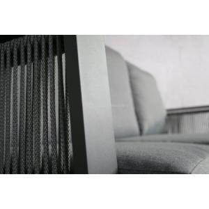 SenS line aluminium loungeset Mallorca antraciet