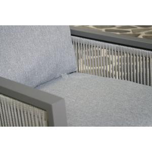 SenS line aluminium loungestoel Mallorca antraciet