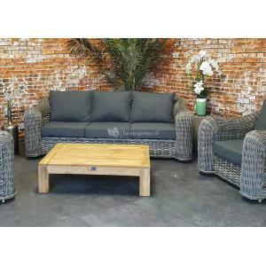 SenS line Da Vinci 3-persoons loungebank tuin