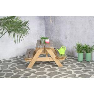 Houten kinderpicknicktafel