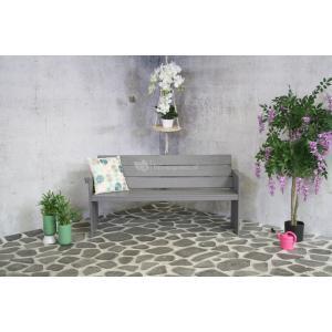 Marseille 3-persoons tuinbank grijs