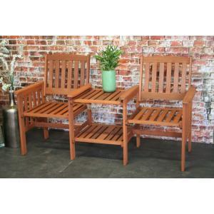 Loveseater houten tuinbank