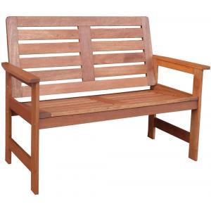 Vera 2-persoons houten tuinbank