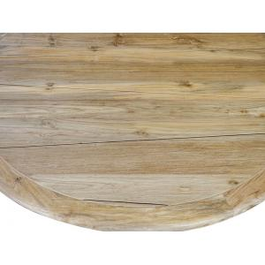SenS line ronde tuintafel Malta teak 130 cm
