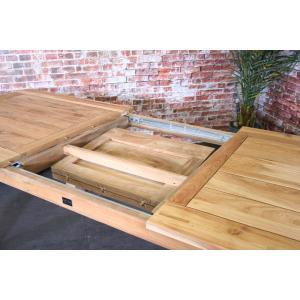 SenS line teak houten tuintafel Charleston 200-260 uitschuifbaar
