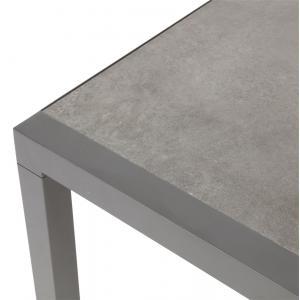 Down Town lounge tuintafel aluminium keramiek