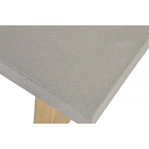 Tuintafel Judy met betonlook blad 180x90x77 cm