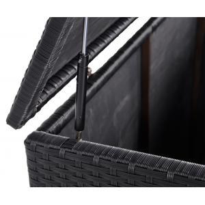 Kussenbox zwart wicker