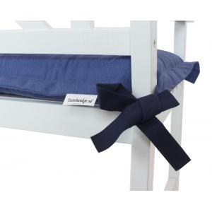 Tuinbank kussen blauw 120 cm