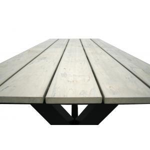 Picknicktafel Family aluminium zand