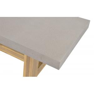 Tuinbank Judy met betonlook zitting 250x40x45 cm