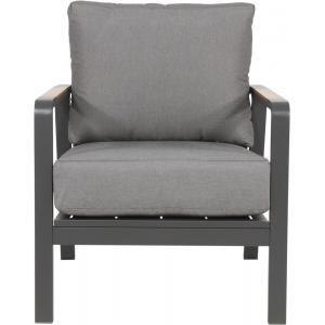 Mai Tai loungestoel aluminium antraciet