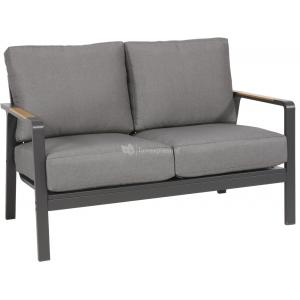 Mai Tai 2-persoons loungebank aluminium antraciet