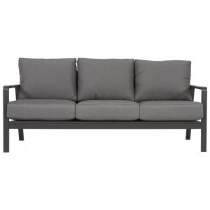 Mai Tai 3-persoons loungebank aluminium antraciet