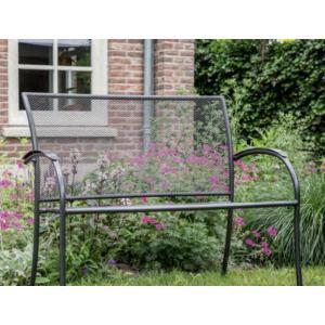 Nordic 2-persoons metalen tuinbank