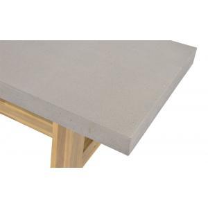 Tuinbank Judy met betonlook zitting 180x40x45 cm